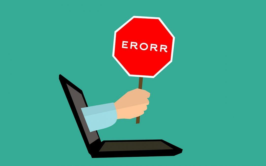Los 5 errores más comunes en la SEO